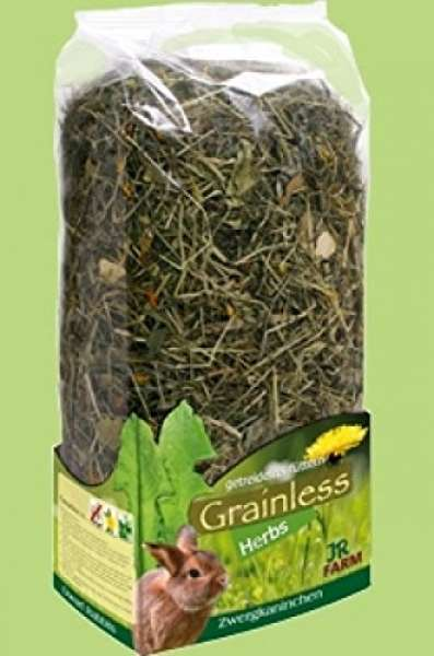 JR Grainless Herbs Zwergkaninchen 400g
