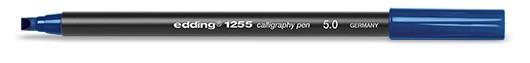 edding 1255 calligraphy pen 5.0 - 017 Stahlblau
