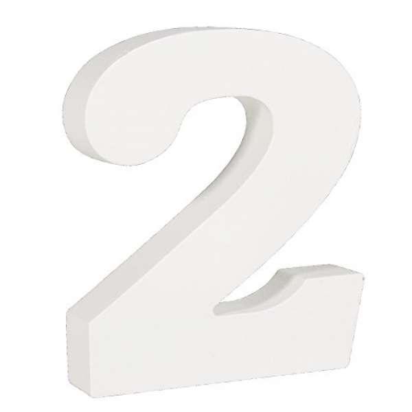 Nummer 2 weiß