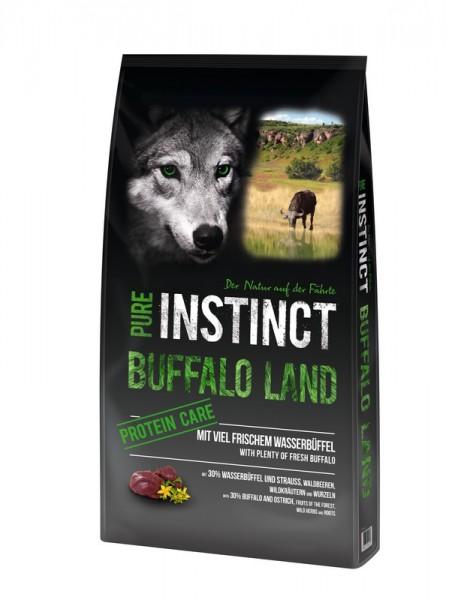 PURE INSTINCT 12kg BUFFALO LAND - Wasserbüffel und Strauß