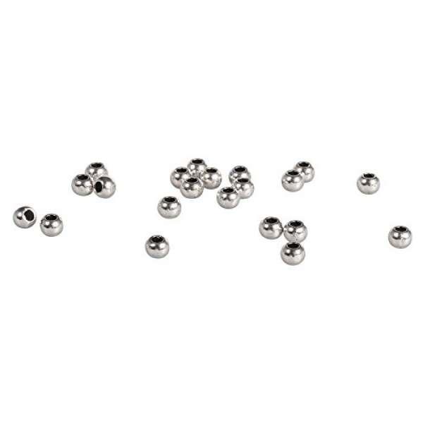 Metall-Perle 3mm silber