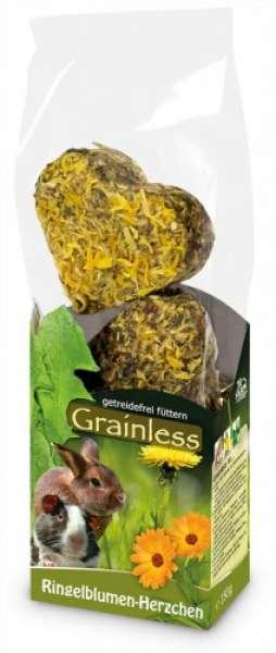 JR Grainless Ringelblumenherzen 105g