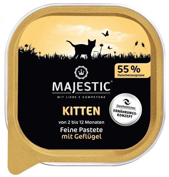 MAJESTIC Kitten - Geflügel - 100g Schale