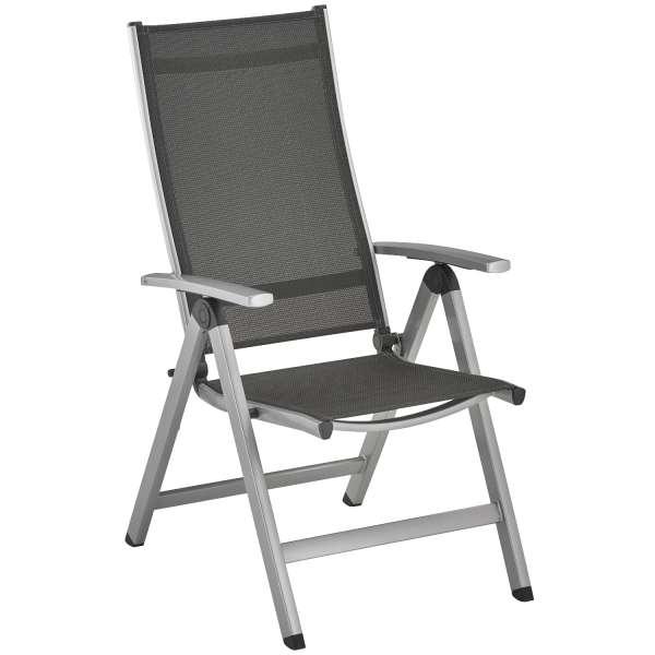 Sessel Easy hoch silber/anthrazit kla #