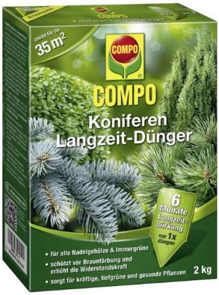 COMPO Koniferen Langzeit Dünger 2 kg