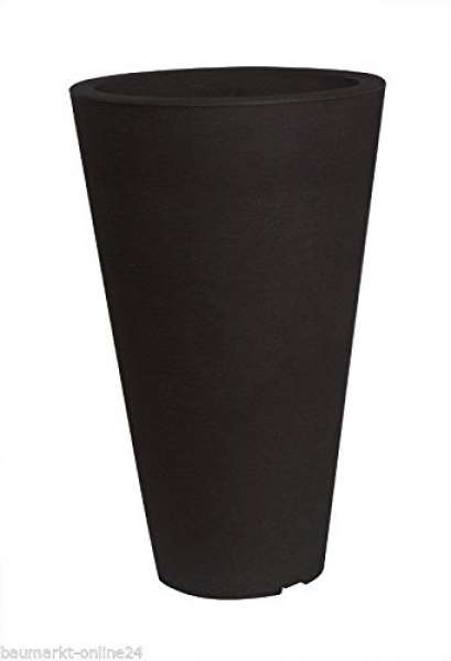 Pflanzvase CAPRI anthrazit 24x35cm
