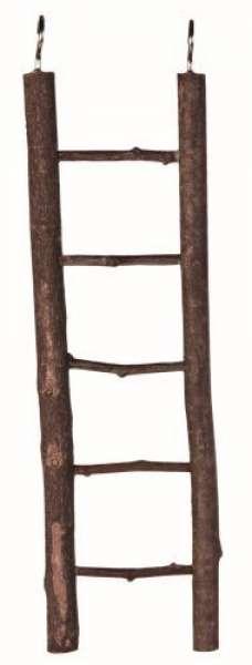 Trixie Natural Living Holzleiter, 5 Sprossen/26 cm