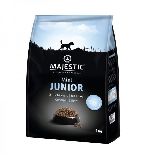 MAJESTIC 1kg Mini Junior Geflügel