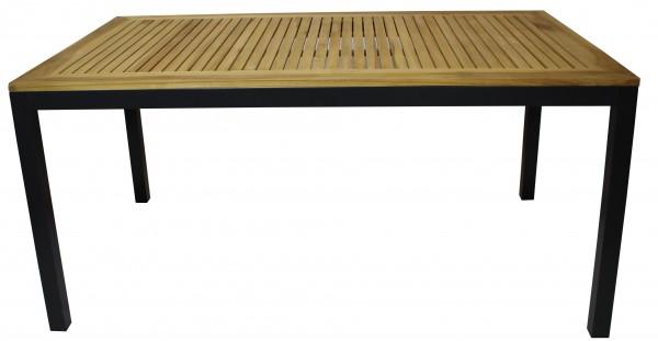 Tisch Luna 100x160cm anthrazit