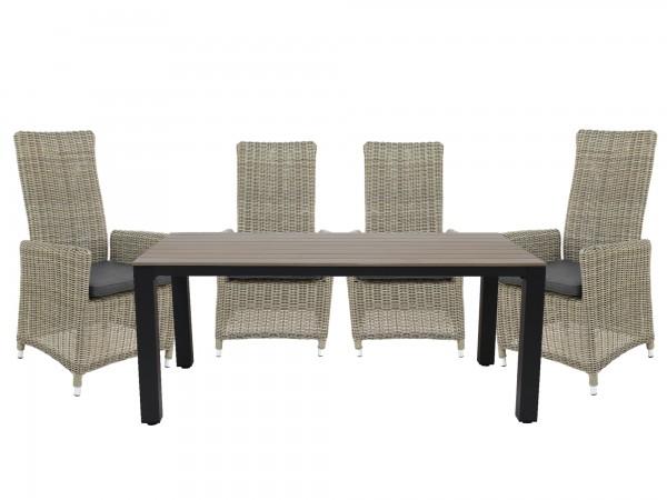 Set Sessel Rantum Move + Tisch Keitum