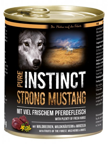PURE INSTINCT STRONG MUSTANG 800g