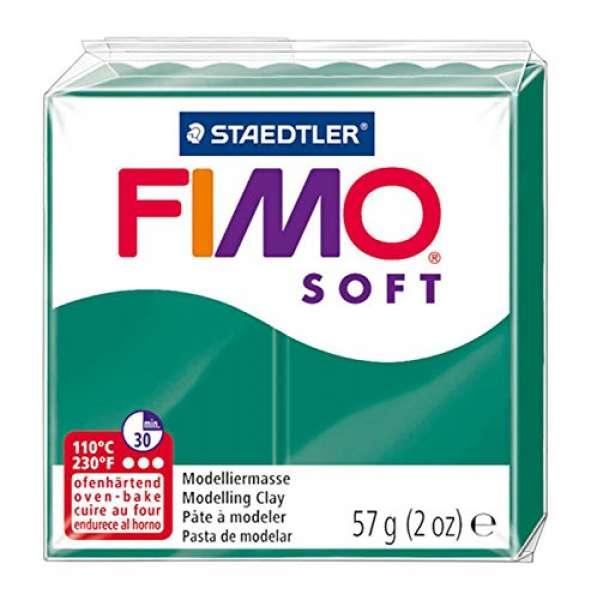 Fimo soft 57g smaragd