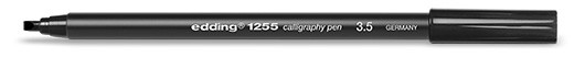 edding 1255 calligraphy pen 3.5 - 001 schwarz