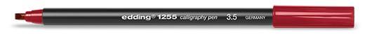 edding 1255 calligraphy pen 3.5 - 046 Karmesin