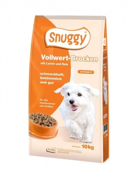snuggy Hund Vollwert-Brocken Lamm und Reis 10kg