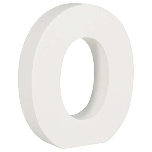 MDF Nummer 0 weiß