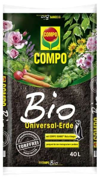 Erde-Universal Bio 40L torffrei CO
