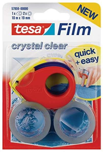 tesafilm Mini Abroller mit 2 x tesafilm kristall-klar