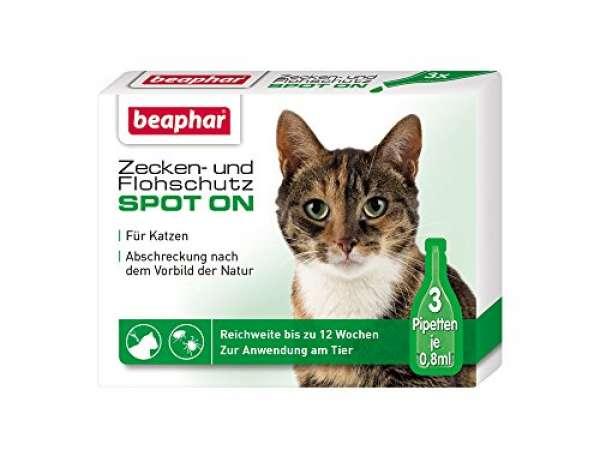 beaphar SpotOn 3x0,8ml Katze