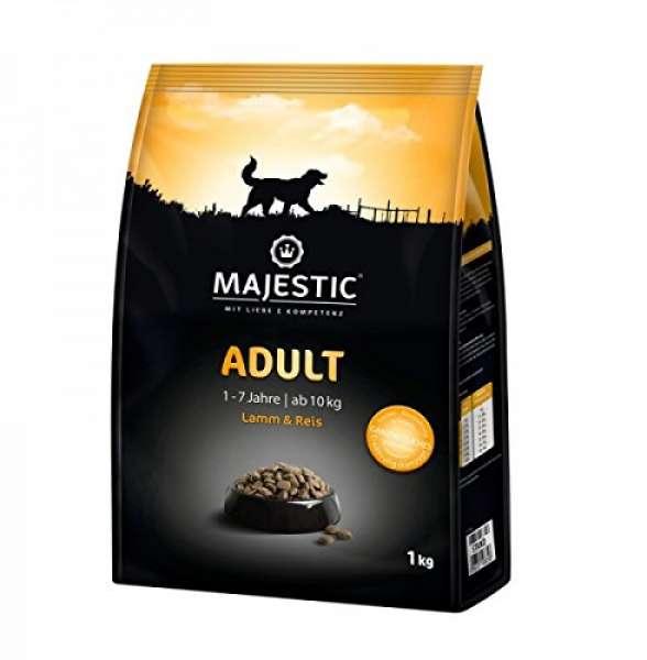 MAJESTIC 1kg Adult Lamm&Reis
