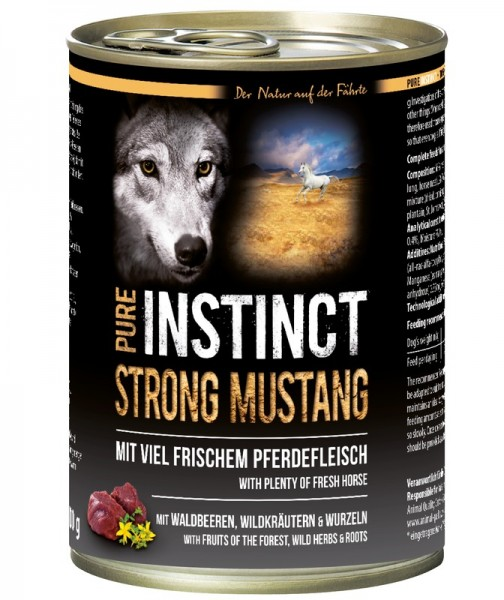 PURE INSTINCT STRONG MUSTANG 400g