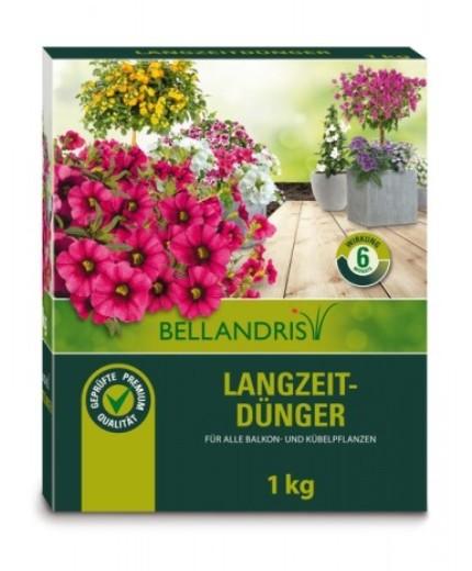 Bellandris Balkon- & Kübelpflanzen Langzeitdünger 1kg