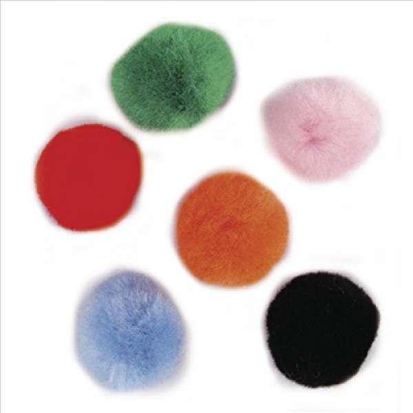 Pompons gemischt 10mm