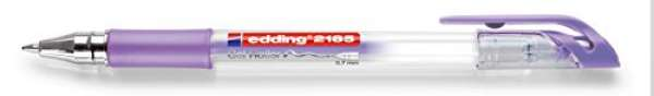 e-2185 Gel Roller violett-metallic