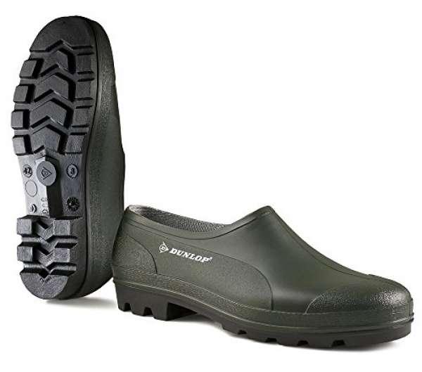 Dunlop PVC-Clog in grün, 42