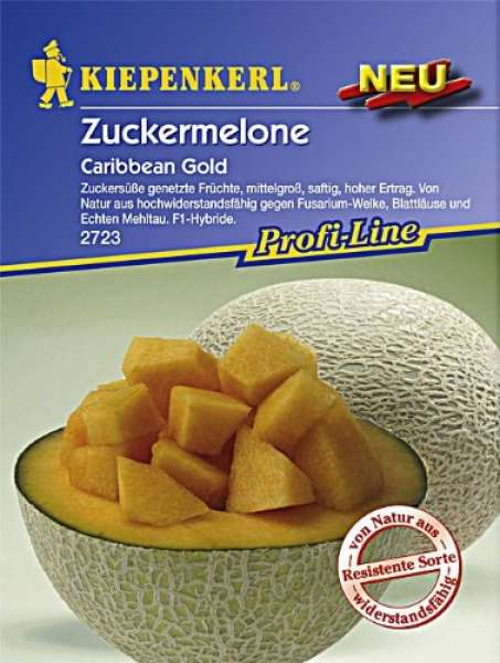Zuckermelone Carib. Gold