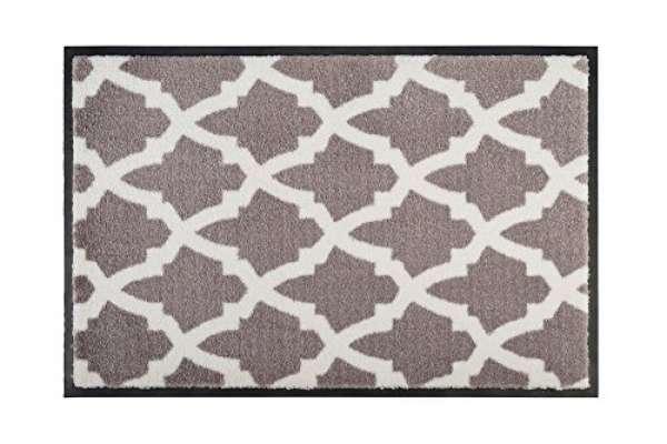 Gift Company Fußmatte Washables 'Trellis' braun 75x50cm