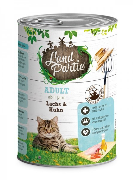 LandPartie ADULT - Lachs&Huhn - 400g
