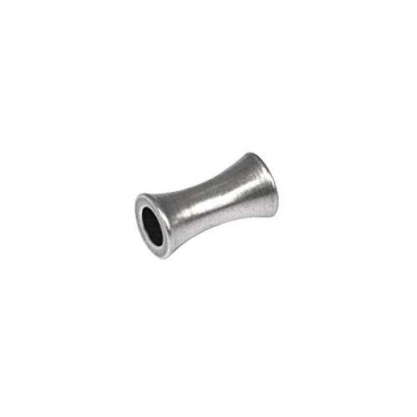 Metall Walze 6mm Großloch 3,5mm silber
