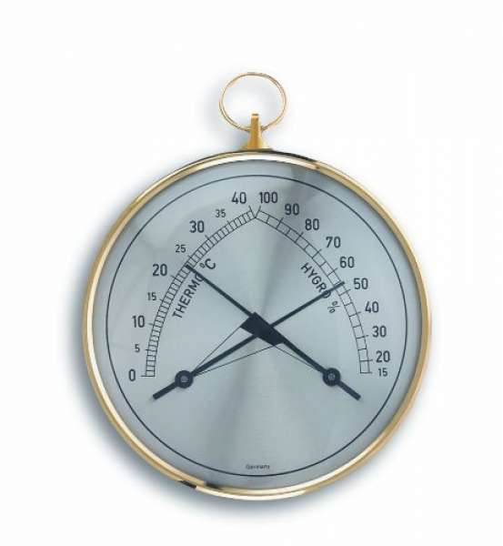 TFA Dostmann Thermo-Hygrometer Klimatherm 45.2005, 100 mm
