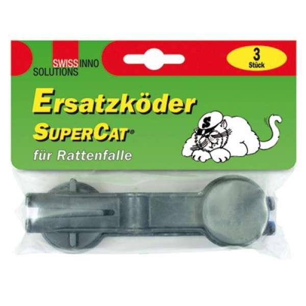 SuperCat Ersatzköder, dunkelgrau, 2,5 x 15,5 x 12 cm, 1 060 001K