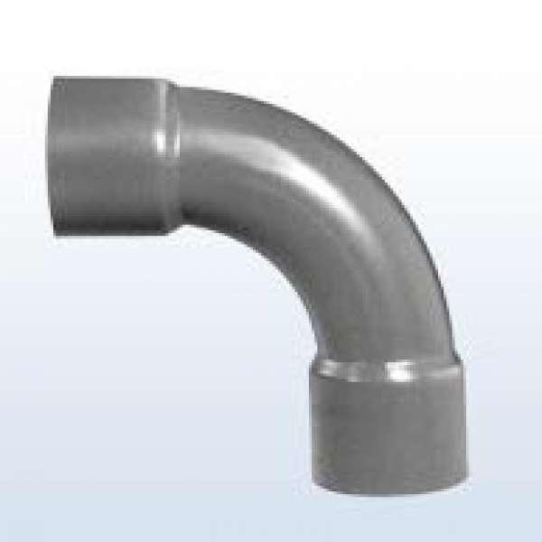 PVC-Bogen 90°, 2x Klebemuffe, 40 mm