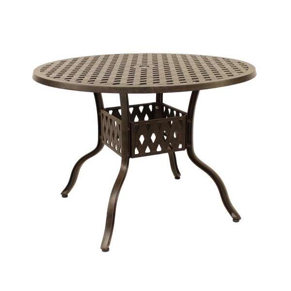 Tisch Leets 105cm Bronze