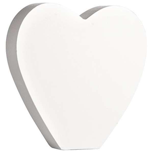 Symbol Herz weiß