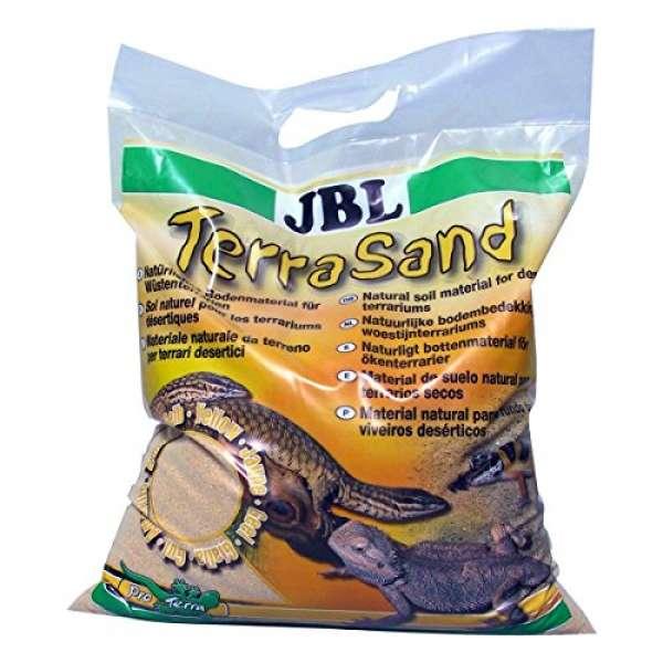 JBL TerraSand gelb für Wüstenterrarien