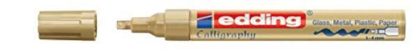e-755 CR calligraphy paintmarker gold