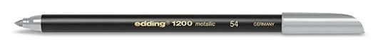 edding 1200 metallic colorpen - 054 Silber Metallic