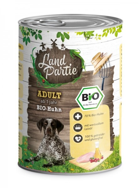 LandPartie Bio ADULT - Huhn - 400g