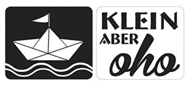 Labels Schiffchen klein aber oho 2St.