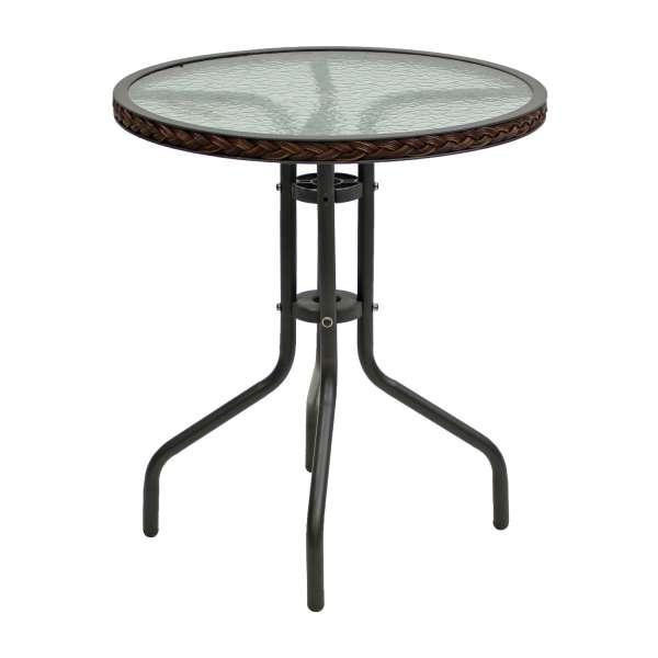 Tisch Ravenna 60cm cappuccino brown