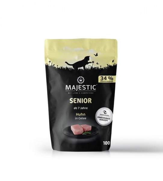 MAJESTIC Huhn Pouch 100g