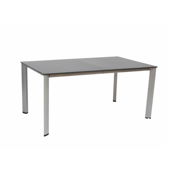 Tisch Loft 160/220x94cm silber/anthrazit