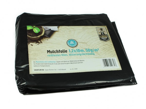 Landwerker Mulchfolie 1,2x10m 50g qm