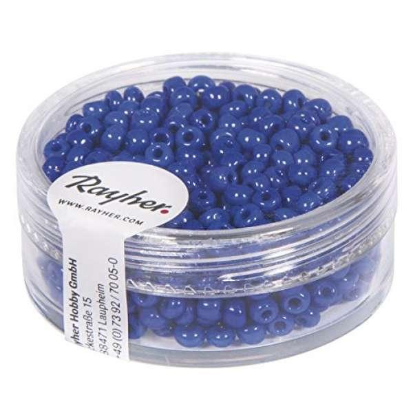 Rocailles dunkelblau