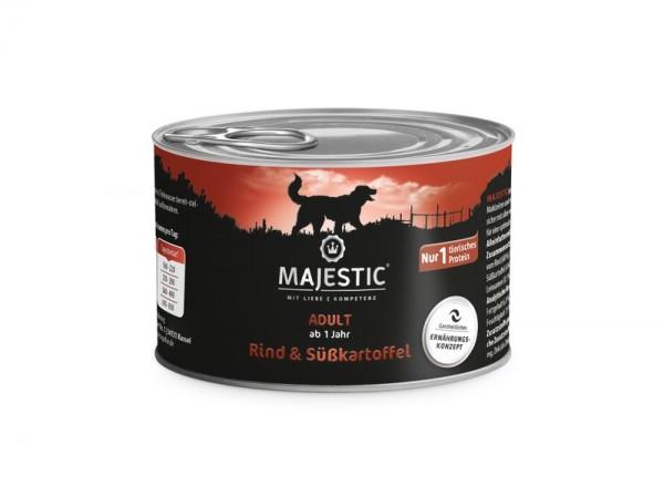 MAJESTIC Rind & Süßkartoffel - 200g