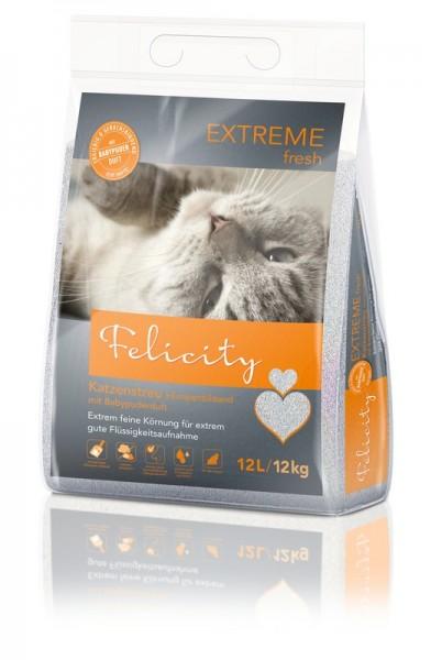 Katzenstreu Felicity EXTREM fresh 12kg / 12L